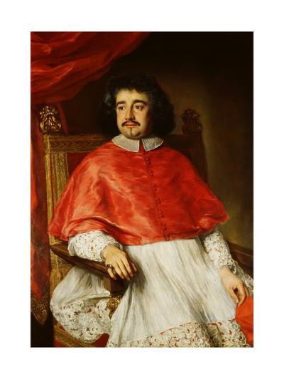 Portrait of Flavio Chigi-Jacob Ferdinand Voet-Giclee Print