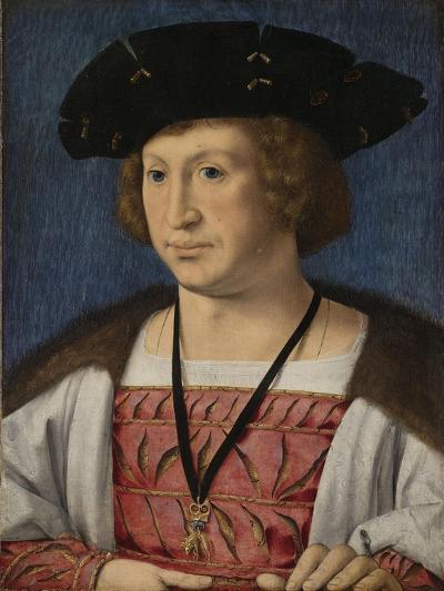 Portrait of Floris Van Egmond, Count of Buren En Leerdam-Jan Gossaert-Art Print