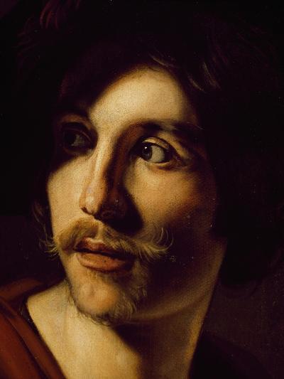 Portrait of Flutist-Nicolas Tournier-Giclee Print