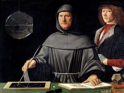 Portrait of Fra Luca Pacioli by Jacopo De Barbari--Giclee Print