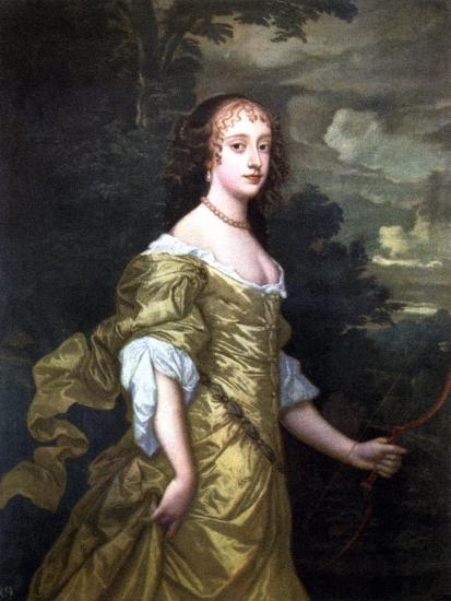 Portrait of Frances, Duchess of Richmond, C1662-1665-Peter Lely-Giclee Print