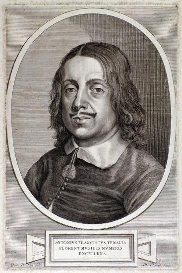 Portrait of Francesco Antonio Tenaglia--Giclee Print