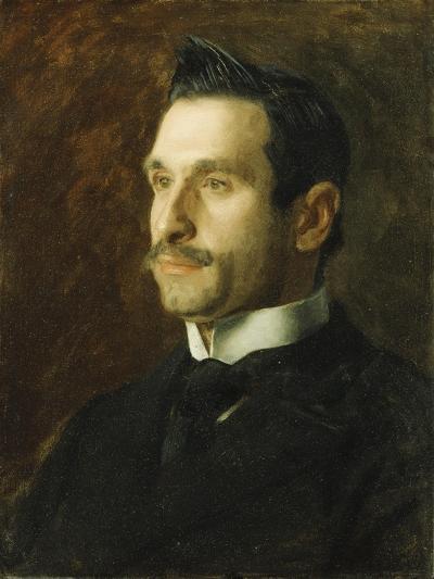 Portrait of Francesco Romano, 1904-Thomas Cowperthwait Eakins-Giclee Print