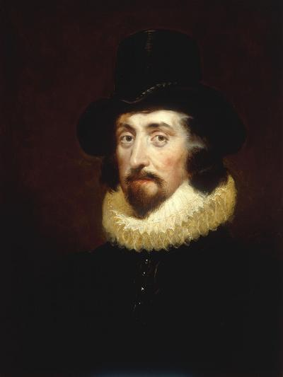 Portrait of Francis Bacon (1561-1626)-George Henry Harlow-Giclee Print