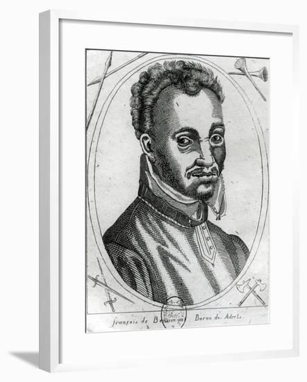 Portrait of François De Beaumont, Baron Des Adrets--Framed Giclee Print