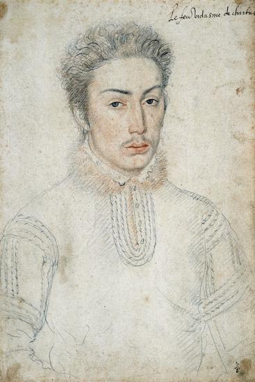 Portrait of Francois De Vendome - by Francois Clouet--Giclee Print