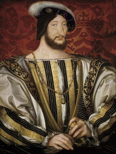 Portrait of François I, King of France-Jean Clouet-Art Print