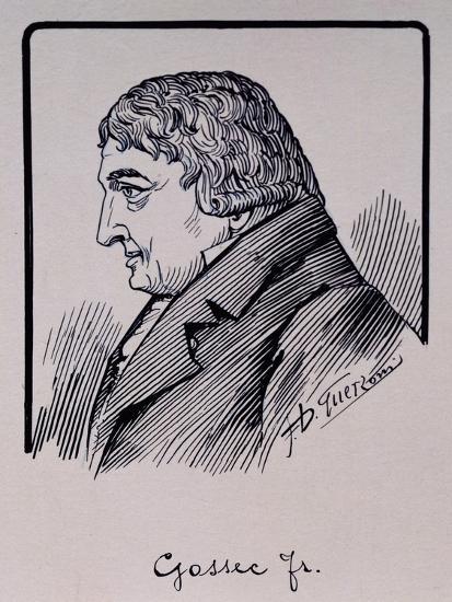 Portrait of Francois-Joseph Gossec--Giclee Print