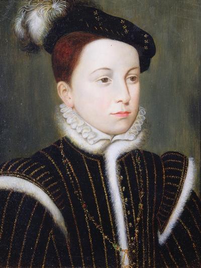 Portrait of Francois-Francois Clouet-Giclee Print