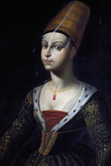 Portrait of Francoise De Boulogne, Castle of Lapalisse (La Palice), Auvergne, France--Giclee Print