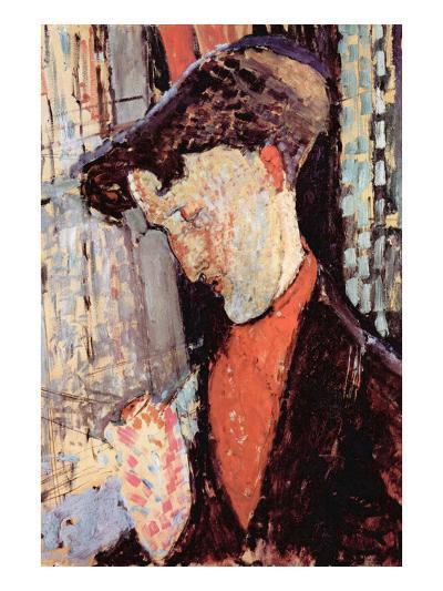 Portrait of Frank Burty Haviland-Amedeo Modigliani-Art Print