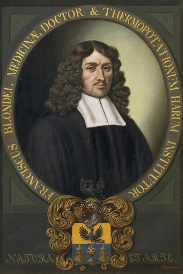 Portrait of Franziskus Blondel-Alexander Stix-Giclee Print