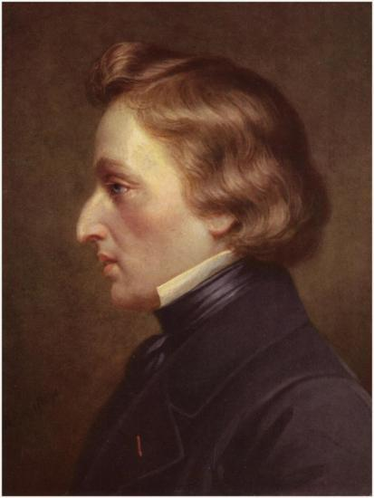 Portrait of Frederic Chopin--Giclee Print