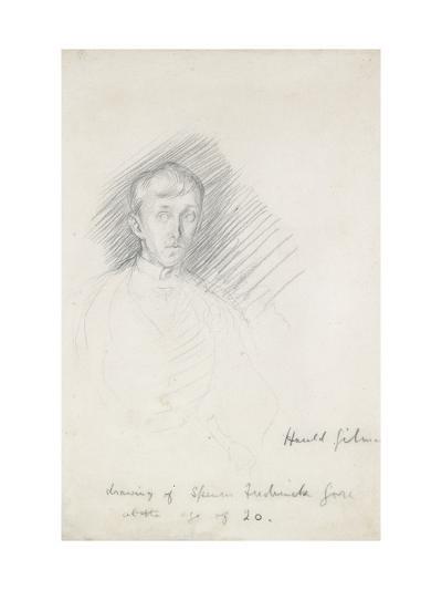 Portrait of Frederick Spencer Gore (1878 - 1914)-Harold Gilman-Giclee Print