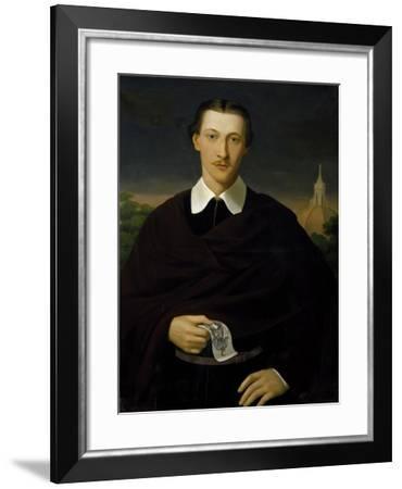 Portrait of Frederick Stibbert--Framed Giclee Print