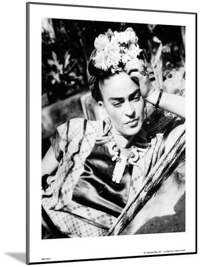 Portrait of Frida Kahlo--Mounted Print