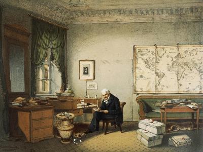 Portrait of Friedrich Heinrich Alexander Von Humboldt--Giclee Print