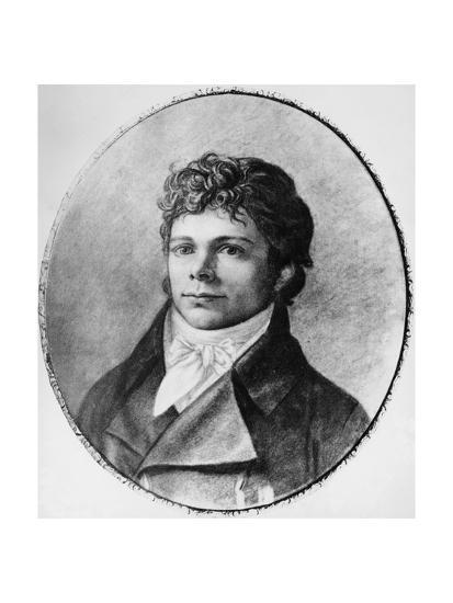 Portrait of Friedrich Wilhelm Joseph Schelling--Giclee Print