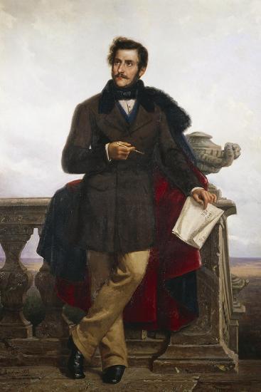 Portrait of Gaetano Doninzetti--Giclee Print