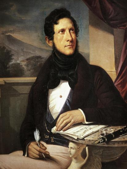 Portrait of Gaetano Donizetti--Giclee Print
