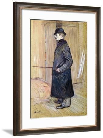 Portrait of Gaston Bonnefoy-Henri de Toulouse-Lautrec-Framed Giclee Print