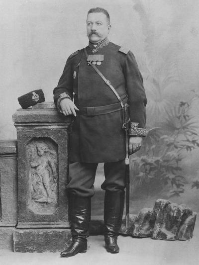 Portrait of General E. Alex De Pogojeff--Photographic Print