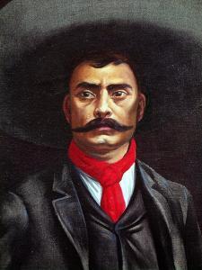 Portrait of General Emiliano Zapata