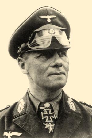 Portrait of General Erwin Rommel C.1942
