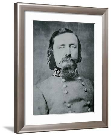Portrait of General George Pickett--Framed Photographic Print
