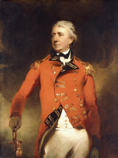 Portrait of General James Stuart Standing Three-Quarter Length-Thomas Lawrence-Giclee Print