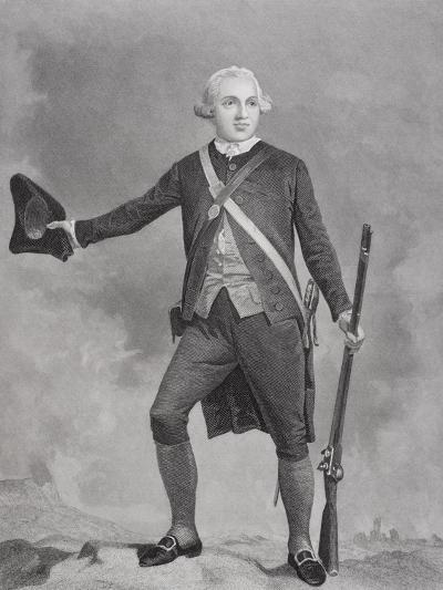 Portrait of General Joseph Warren (1741-75)-Alonzo Chappel-Giclee Print