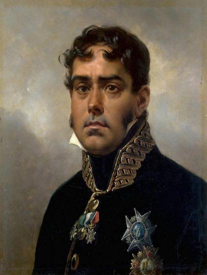Portrait of General Pablo Morillo Y Morillo, 1820-1822-Horace Vernet-Giclee Print