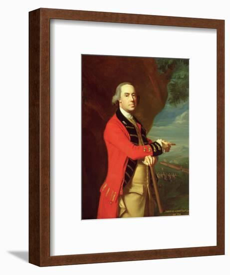 Portrait of General Thomas Gage, c.1768-John Singleton Copley-Framed Premium Giclee Print