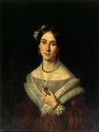 Portrait of Gentlewoman-Giuseppe Cacialli-Giclee Print