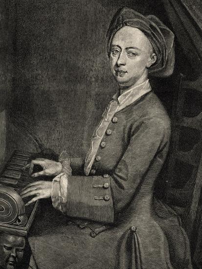 Portrait of Georg Friedrich Handel--Giclee Print