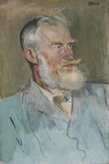 Portrait of George Bernard Shaw (1856-1950), 1915-Augustus Edwin John-Giclee Print
