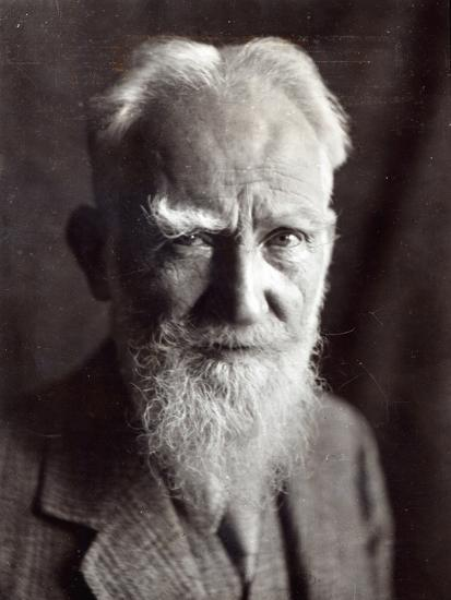 Portrait of George Bernard Shaw, February 1933-English Photographer-Photographic Print