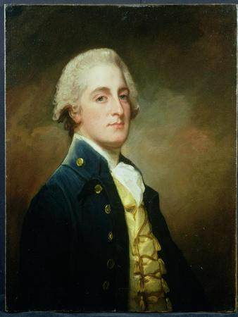 Portrait of George Boscawen (1758-1808) Third Viscount Falmouth, 1784-George Romney-Giclee Print