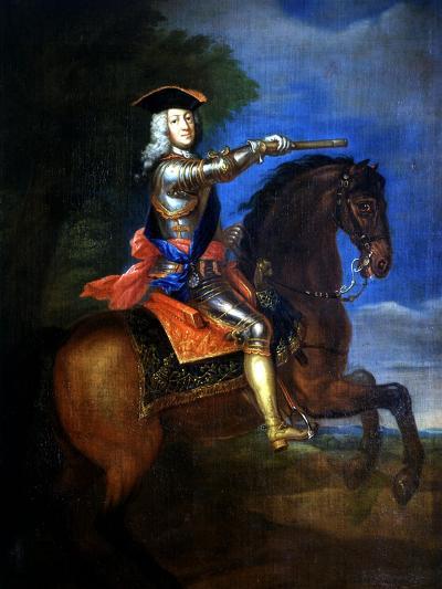 Portrait of George I, 1660-1727 King of England-Godfrey Kneller-Giclee Print
