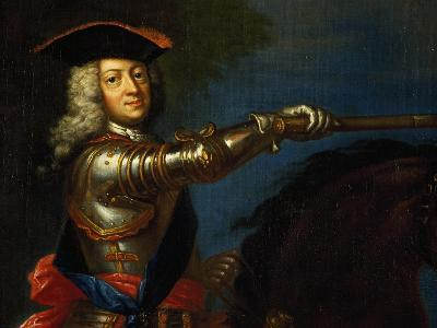 Portrait of George I of Great Britain--Giclee Print
