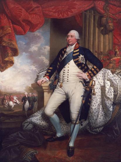 Portrait of George III, 1790-Mather Brown-Giclee Print