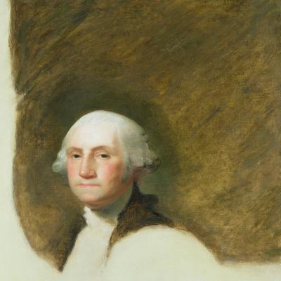 Portrait of George Washington-Jane Stuart-Giclee Print