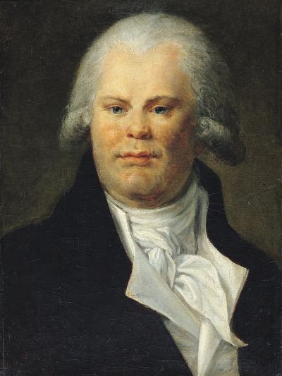 Portrait of Georges Danton (1759-94)--Giclee Print