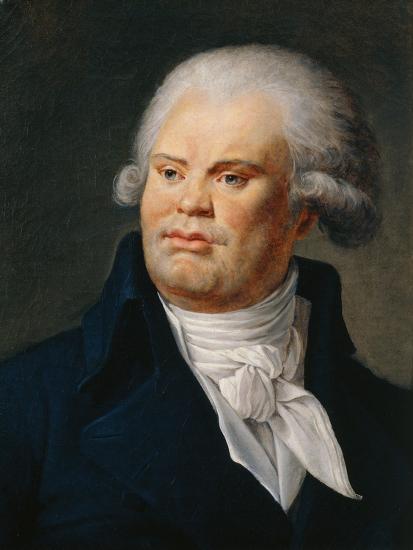 Portrait of Georges Danton--Giclee Print