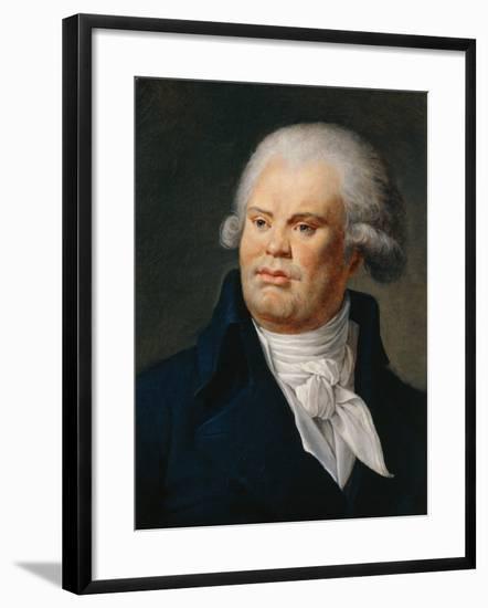 Portrait of Georges Danton--Framed Giclee Print