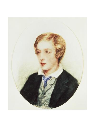 Portrait of Gerard Manley Hopkins, 1859-Anne Eleanor Hopkins-Giclee Print