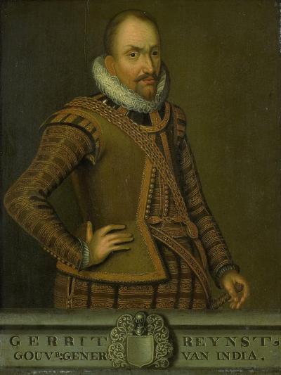 Portrait of Gerard Reynst, Governor-General of the Dutch East Indies--Art Print