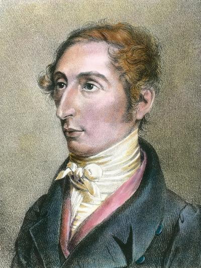 Portrait of German Composer Carl Maria Von Weber--Photographic Print