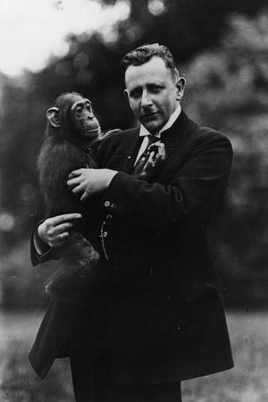Portrait of German Zoologist Ludwig Zukowsky--Photographic Print