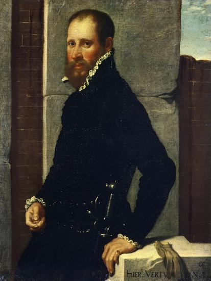 Portrait of Gerolamo Vertova by Giovanni Battista Moroni--Giclee Print